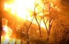 Image - Serbios queman banderas de la OTAN en aniversario de bombardeo criminal a Yugoslavia